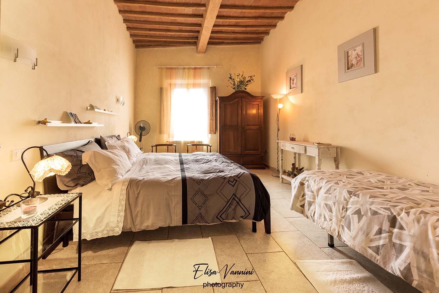 Sunflowers - Apartment in the Tuscan hills - Bedroom
